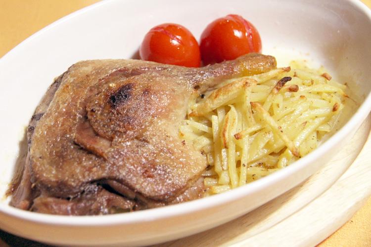 【本格的グルメ人気商品!】シャラン鴨コンフィ(骨付モモ肉)の画像