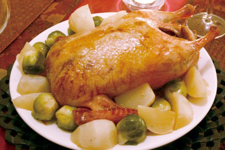 【小さいけどコク味大きい】クロワゼ鴨エトフェ(丸・中抜き)の画像