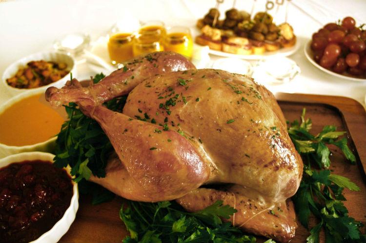 【家庭用オーブンサイズ】【6/8約3kg】US産ターキー(七面鳥) ポップアップタイマー付の画像