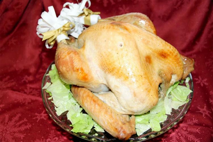 【肉塊の味わいたっぷり】【20/22 約9.5kg】US産ターキー(七面鳥)ポップアップタイマー付きの画像