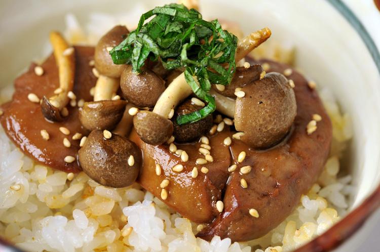 【こってりグルメ2人前!】フォアグラ丼用(甘辛醤油味付きフォアグラ)の画像