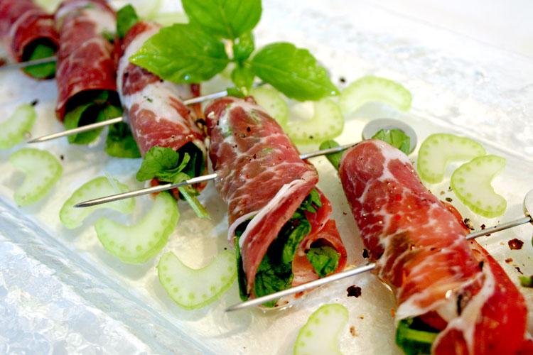 【肉の食感豊かなサラミ】コッパ(スライス)の画像
