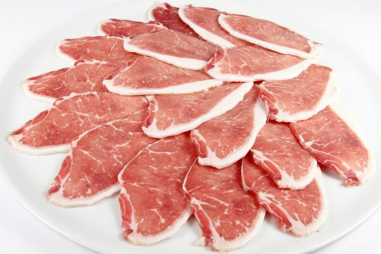 【お薦め品!柔らかで味が良い!】イベリコ豚ベジョータロース(焼肉用)スライス300gの画像