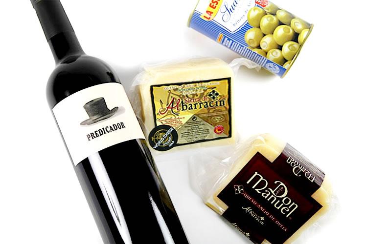 【至福のひとときをどうぞ!】極上ワインと金賞受賞チーズを楽しむセットの画像