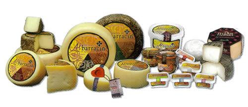 アルバラシンチーズの数々