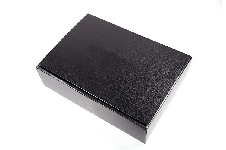 【シックなグルメミートワールド特製】ギフトボックス(黒)の画像