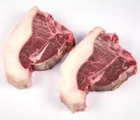 【1パック・2枚入り】【選りすぐりの骨付きステーキ】特選羊肉 Tボーンステーキ(2枚)の画像