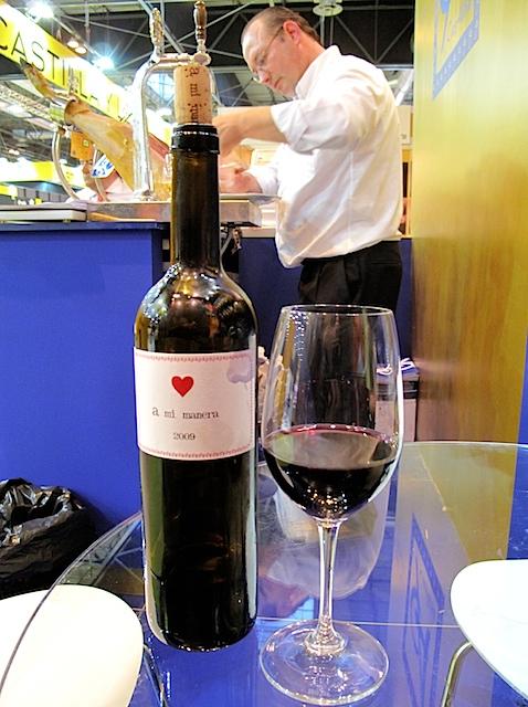 ア・ミ・マネラ、ベンハミン・ロメオ氏の赤ワイン